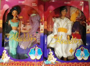 Disney Classics Jasmine and Aladdin Barbie Set