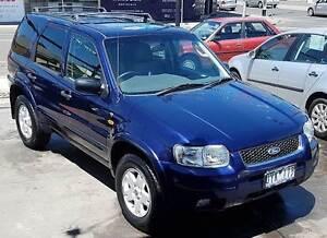2005 Ford Escape Limited Wagon, leather, sunroof, full history... Northcote Darebin Area Preview