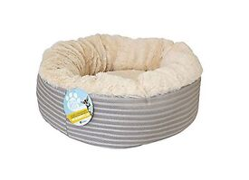 *NEW* Me & My Pets super soft doughnut cat and dog bed