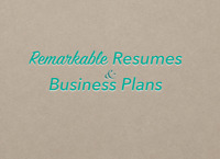 Resume, Cover Letter & Business Plan Writing