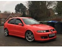 2004 SEAT LEON CUPRA R 1.8T 225 STAGE1 REMAP 260BHP LOWERED RED HPI CLEAR