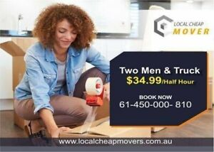 2 REMOVALIST AND A TRUCK AT A CHEAP PRICE, 24X7 AVAILABLE IN MELBOURNE