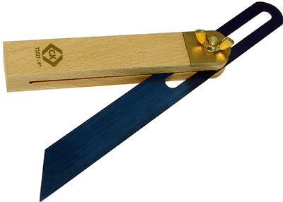 """CK 9"""" (225mm) JOINERS WOODWORKING SLIDING BEVEL WITH WOODEN BEECH HANDLE - T3537"""