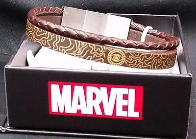 Dr Doctor Strange Eye Of Agamotto Leather Bracelet Official Cosplay Msrp  149 99