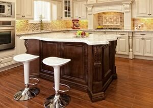 Kitchen Island design idea and kitchen island image, pictures