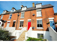 A fantastic modern split-level conversion flat forming part of a period property.