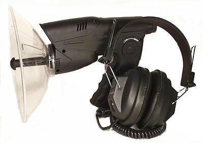 Geräuschverstärker Parabol Richtmikrofon mit Aufnahme
