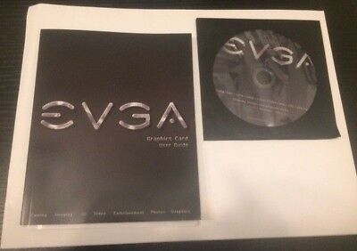 Evga Manual   Driver Cd For Geforce Gtx 1080 1070 1060 1050 Titan Series