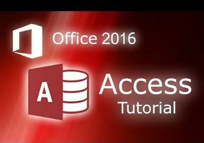 MS ACCESS 2016 Video and Books Training Tutorials online file sharing
