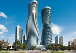 2 BEDROOM LUXURY CONDO AVAIL FOR RENT- ABSOLUTE TOWERS
