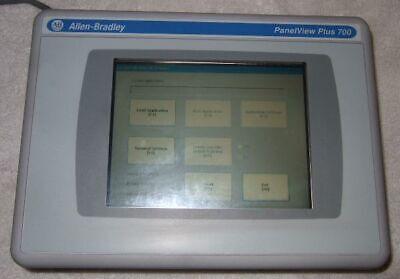 Allen-bradley Panelview 700 2711p-t7c4d9  2711p-rp9d Logic Module