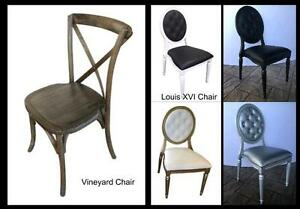 Banquet Tables, wedding chairs, chiavari chairs folding chairs Kingston Kingston Area image 6