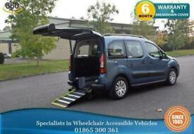 Citroen Berlingo Wheelchair Accessible Vehicle WAV 5 Seats Auto