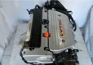 2004 2008 JDM ACURA TSX K24A ENGINE LOW MILES 2.4L 200HP
