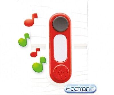 Smoby Toys 7600810912-Exterior -Casa de Juegos Accesorio - Elektr. Timbre Puerta
