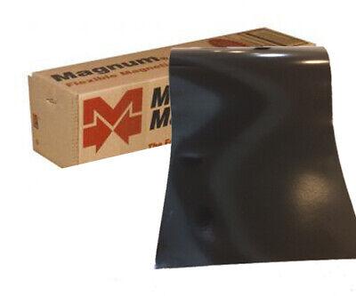 1 Roll 12 Width X 5 Feet 30 Mil. Gloss Black Magnetic Sign Sheet Cars Magnum