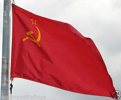 NEW BIG 2x3 ft SOVIET USSR RUSSIA BANNER FLAG