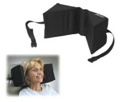 Skil-Care Triangular Head Support for High Back Chairs, Polyester Cover -