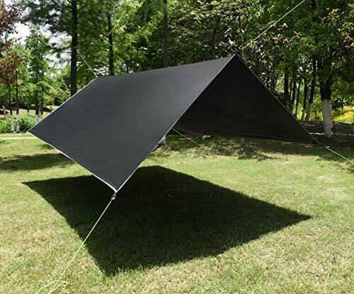 Fly Tent Camping Rain Tarp Canopy Waterproof Hammock Backpac