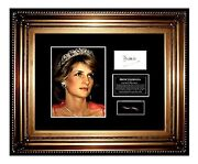 Princess Diana Signed