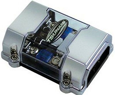 MANL Pos/ Neg Fuse Distribution Block (1)1 or 4 ga in (2) 4 or 8 ga out
