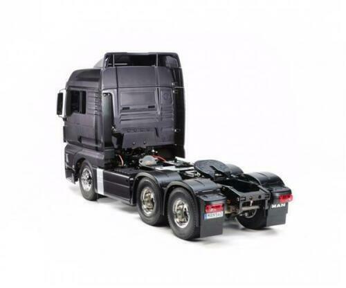 Streifen für Tank eines Tamiya Trucks 1:14 schwarz glänzend