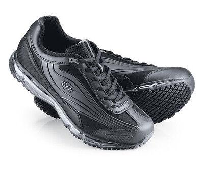 SFC Shoes For Crews Aurora Black Leather Women's Shoes 9043 Size 9.5 / 41 $69
