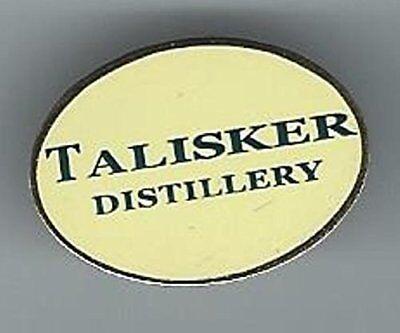 TALISKER OVAL DISTILLERY SCOTCH WHISKY LAPEL PIN BADGE ( GLENCAIRN (Scotch Whisky Distilleries)