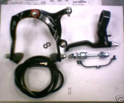 NEW Odyssey 1999 Brake set /& Lever Freestyle SILVER BMX