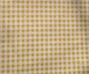 Beige Gingham Fabric