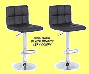 HIGH BACK VERY MODERN & ELEGANT DESIGNER BAR STOOL $59 ONLY.
