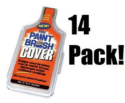 (14) ea Likwid Concepts PBC001 The Paint Brush Holders / Storage - The Paint Brush Cover