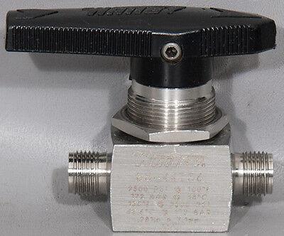 Whiteyswagelok Ss-44ts6 Manual 38 2-way Stainless Steel Ball Valve