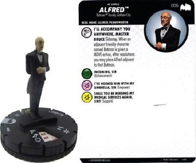 DC Heroclix - Batman: The Animated Series - ALFRED #006
