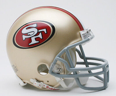 SAN FRANCISCO 49ers NFL Football Helmet BIRTHDAY WEDDING CAKE TOPPER DECORATION](49ers Cake)