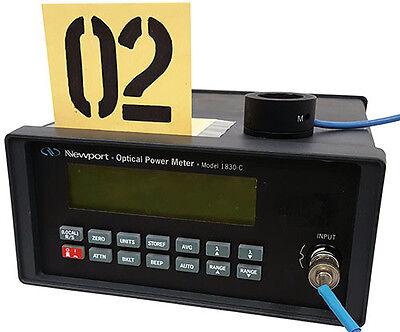 Newport 1830-c Optical Power Meter Tag 02