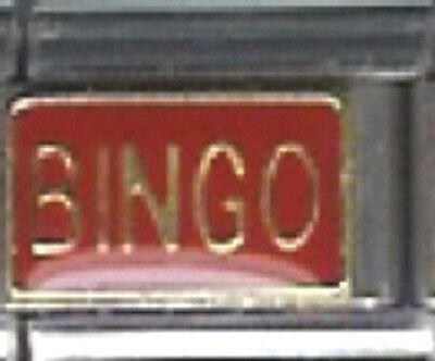 Italian Charm Bingo 9mm Fits Standard Bracelet - Fitness Bingo