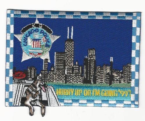 Chicago Police Patch Ebay
