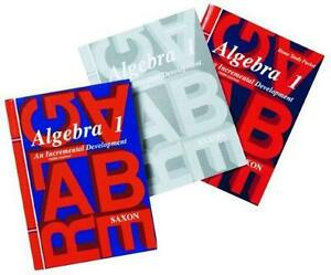 Solution manual books ebay saxon algebra 1 solutions manual fandeluxe Gallery