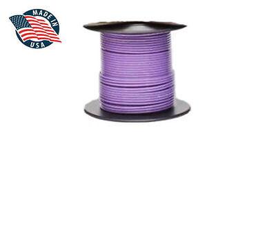 25ft Mil-spec High Temperatur Wire Cable 18 Gauge Violet Tefzel M2275916-18-7