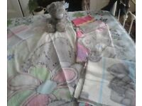 NEXT Tatty Ted Duvet Cover, Curtains, Nightdress Case and Cushion