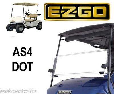EZGO TXT 1995-2013 Fold Down Street Legal AS4 DOT Windshield