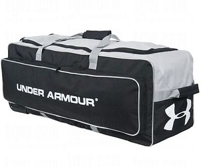 4652285013 Under Armour UA Baseball/Softball Catchers Wheeled Equipment Bag Black  UACEB-1RB