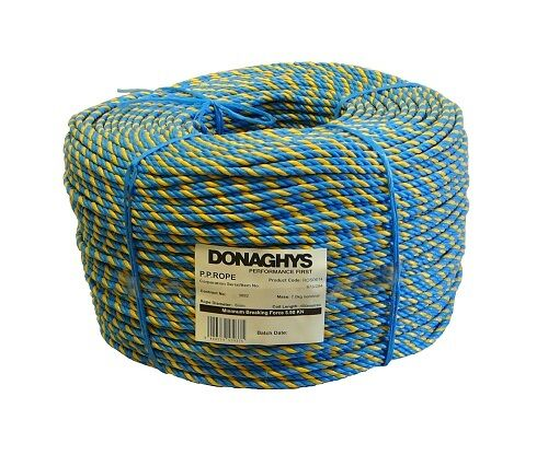 Donaghys Telstra Rope Blue Yellow 6mm x 400m