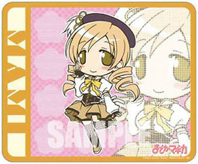 Puella Magi Madoka Magica Kyoko Chibi Plastic Mouse Pad Anime Manga NEW
