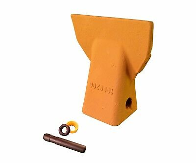 1 - Cat J200 Style Backhoe Bucket Flare Tooth W Pin Retainer- 109-9200