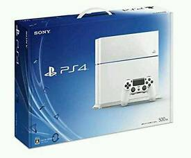 Sony PlayStation 4 White 500gb