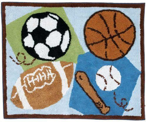 For baby boys with sports-themed nurseries, the CoCaLo Baby Sports Fan 7117  738 rug serves as a dramatic, colorful accent piece. Made of 100 percent  cotton, ... - Top 5 CoCaLo Baby Rugs EBay