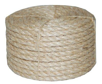 T.W . Evans Cordage 23-405 3/8-Inch by 50-Feet Twisted Sisal Rope