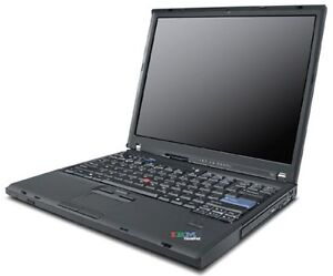 "Lenovo ThinkPad 15.4"" Core 2 Duo  4GB RAM 160 G (défectueux)"